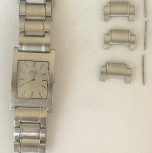 Guess watch, with extra links